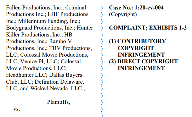 Will the same attorneys suing in multiple movie lawsuits ask you to pay settlements for both HB Productions & Fallen Productions Lawsuits?