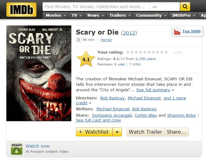 010613 Scary or Die