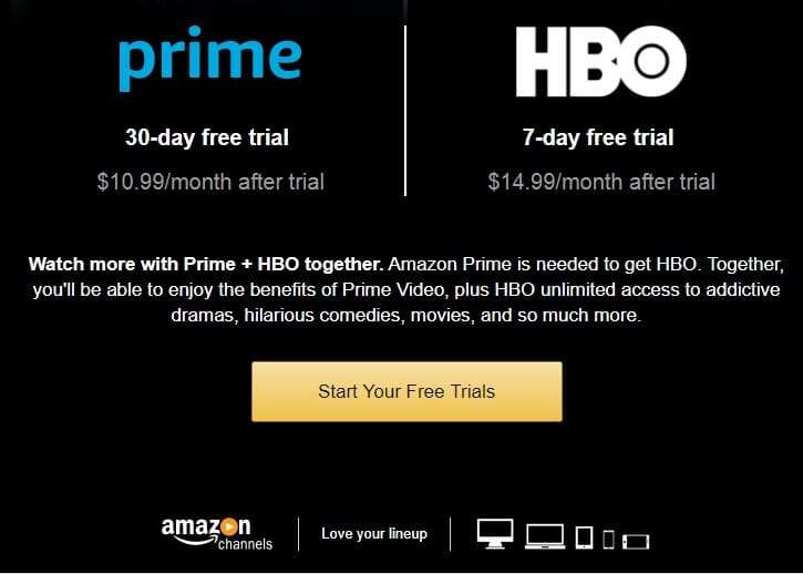 HBO makes Game of Thrones episodes available to Amazon Prime customers