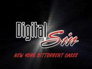 2012 Digital Sin New York Bittorrent Cases affecting Bryan DeMatteo and his 2017 New York ME2 Productions cases