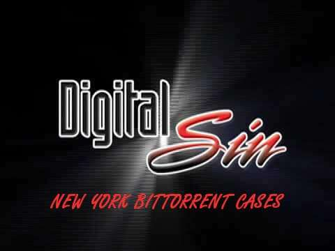 Digital Sin New York Bittorrent Cases affecting Bryan DeMatteo